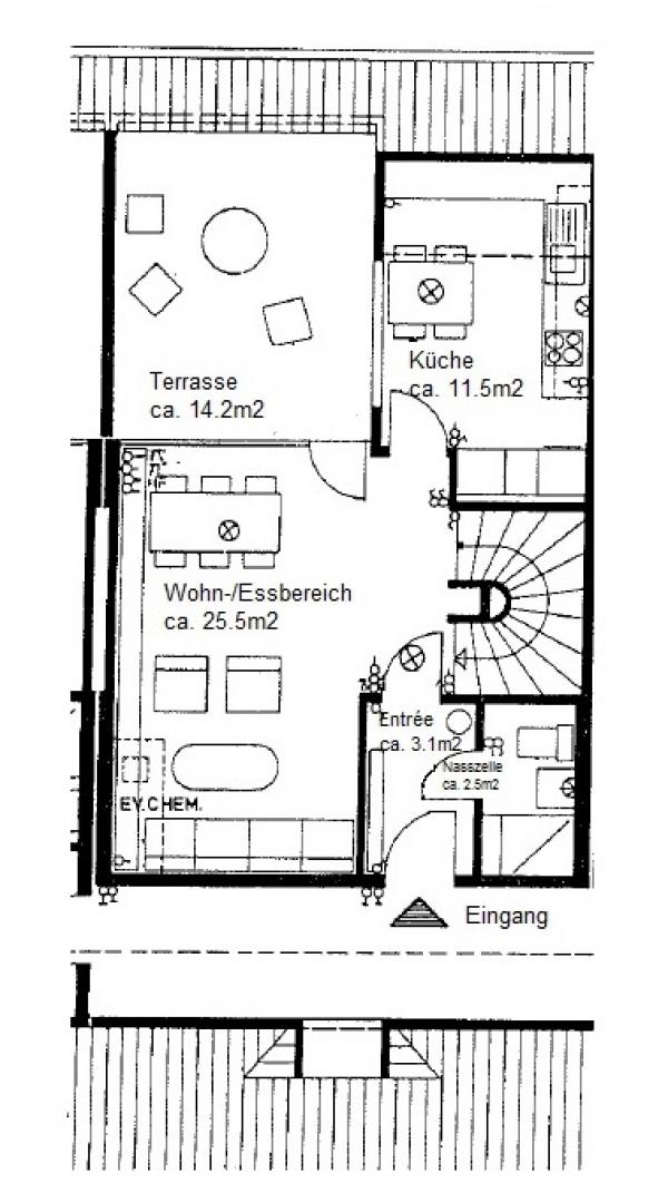 3. Obergeschoss (Eingangsgeschoss)