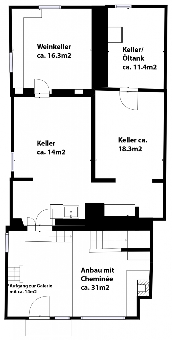 Anbau/Untergeschoss