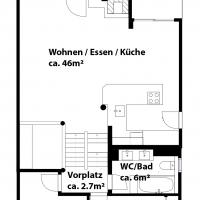 Erdgeschoss / Obergeschoss