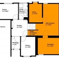 Parterre und Untergeschoss