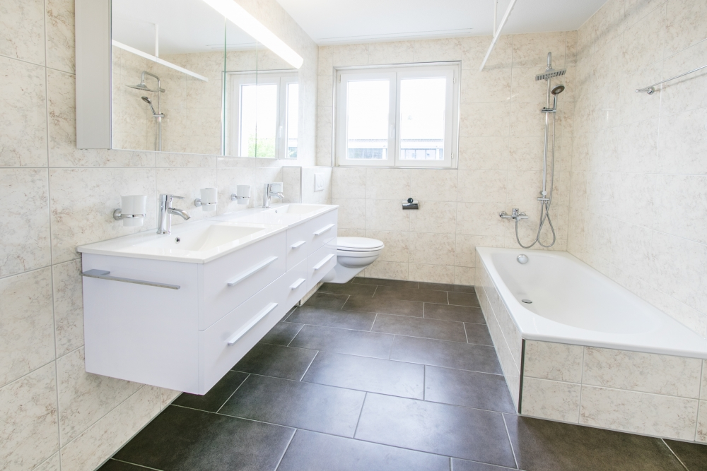 Badezimmer mit WA/TU