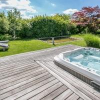 Garten mit Whirlpool