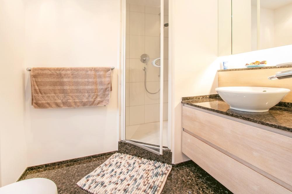 Dusche / WC DG mit Bodenheizung