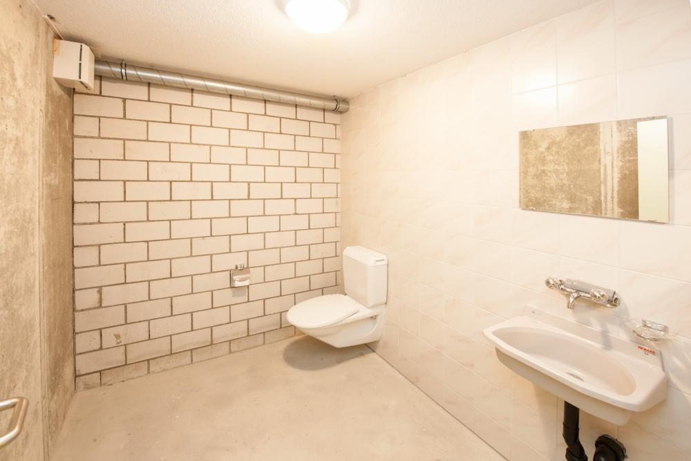 WC im UG