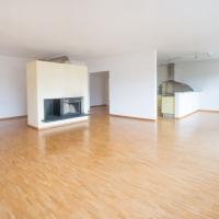 Wohn-/Essbereich und Küche