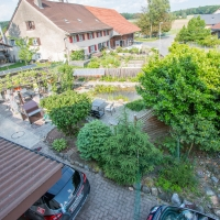 idyllische Gartenanlage